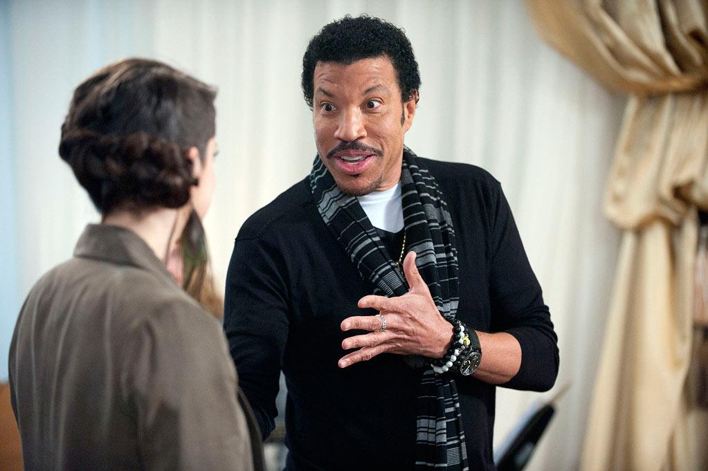 <b>Lionel Richie</b> on Team Christina, Season 2