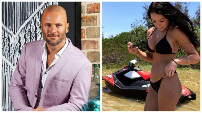 Mike has been linked to part-time model Casey Stewart Photo: Channel 9/ Instagram
