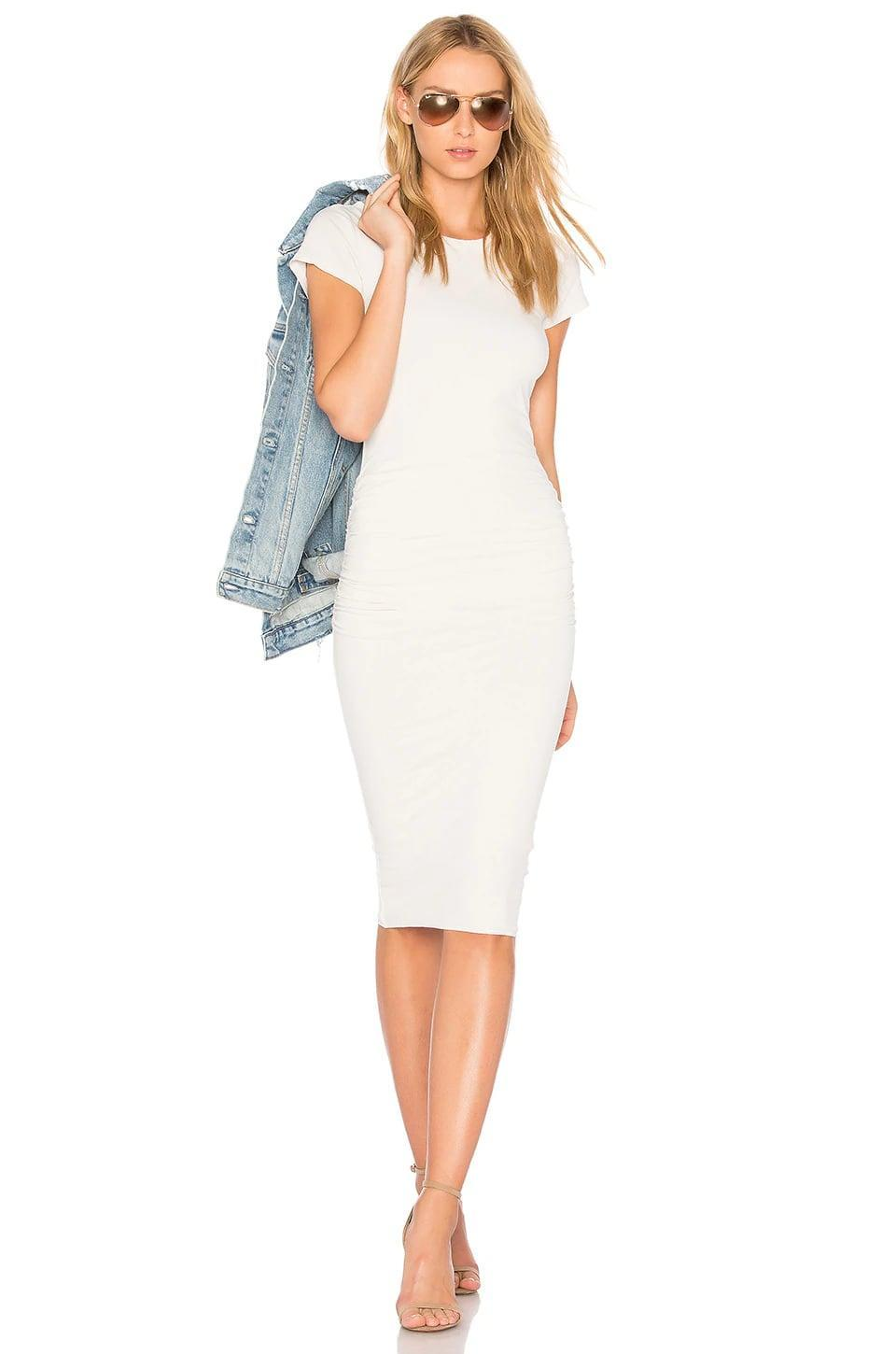<p>This <span>James Perse Classic Skinny Dress</span> ($216) is so comfortable, you won't want to wear anything else.</p>