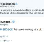 Lil B and Cleveland Cavaliers Guard Iman Shumpert Are Making