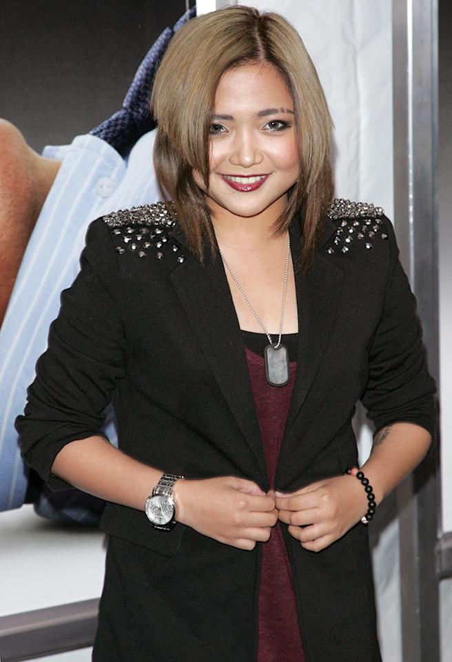 "NEW YORK, NY - OCTOBER 09:  Actress Charice attends the ""Here Comes The Boom"" premiere at AMC Loews Lincoln Square on October 9, 2012 in New York City.  (Photo by Jim Spellman/WireImage)"