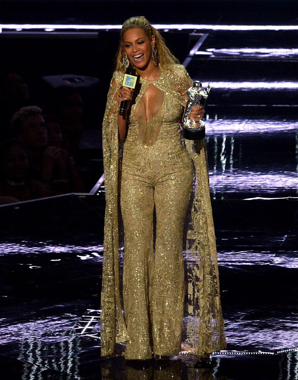 Beyonce was said to be in attendance at Serena's ceremony