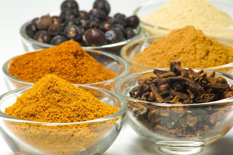 Turmeric and other spices