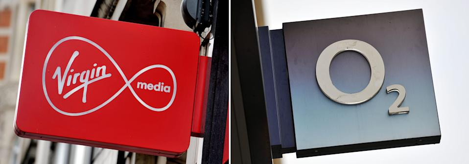Virgin Media and O2 merger (PA Wire)