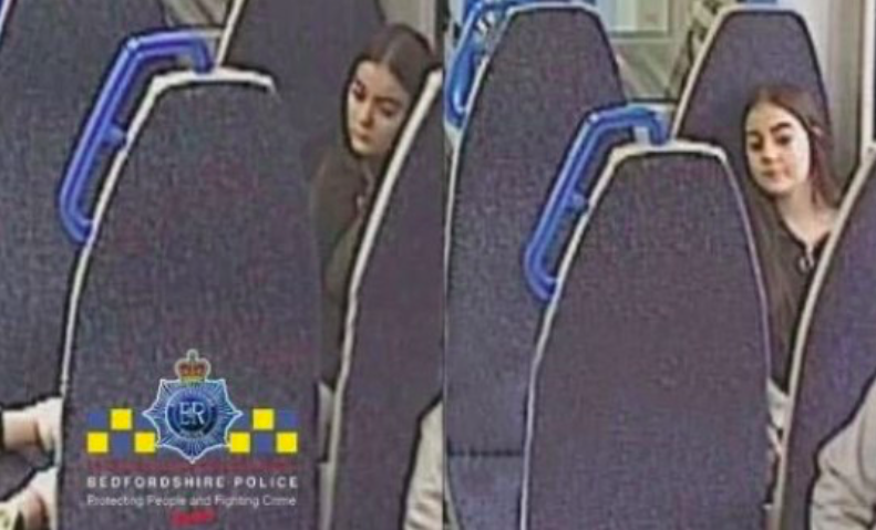 The 13-year-old was last seen on Thursday morning (Bedfordshire Police)