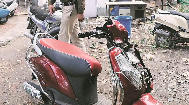 kharar accident, kharar scooty accident, chandigarh accident, chandigarh city news