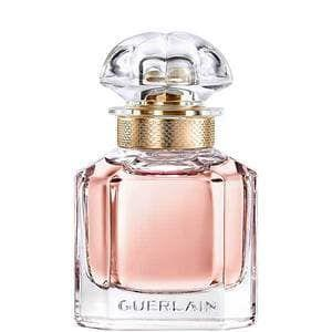 """<p><strong>Eni Subair, Editorial Assistant</strong></p><p><strong>The perfume:</strong> <strong>Guerlain</strong> Mon Guerlain Eau de Parfum, £53 for 30ml, available at <a href=""""https://www.theperfumeshop.com/guerlain/mon-guerlain/eau-de-parfum-for-her/p/22010EDPJU"""" rel=""""nofollow noopener"""" target=""""_blank"""" data-ylk=""""slk:The Perfume Shop"""" class=""""link rapid-noclick-resp"""">The Perfume Shop</a>.</p><p><strong>Why it's my signature scent:</strong> My sister initially discovered this perfume and I fell in love with it immediately. I consider it to be my go-to for special occasions and evenings out. It is a distinct floral meets fresh scent that lingers all day and makes me feel elegant. I receive so many compliments when I wear it, but the price is a tad steep for my budget, so I try to spritz it sparingly.</p><br><br><strong>Guerlain</strong> Mon Guerlain Eau de Parfum For Her 3oml, $53, available at <a href=""""https://www.theperfumeshop.com/guerlain/mon-guerlain/eau-de-parfum-for-her/p/22010EDPJU"""" rel=""""nofollow noopener"""" target=""""_blank"""" data-ylk=""""slk:The Perfume Shop"""" class=""""link rapid-noclick-resp"""">The Perfume Shop</a>"""