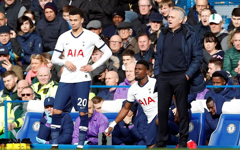 Mourinho has left Alli out of Tottenham squads recently - Reuters