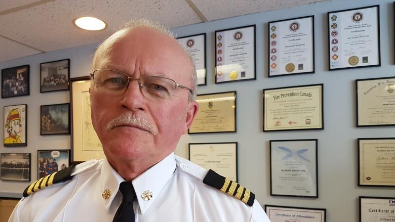 Recommended changes to Cape Breton fire service off the back burner