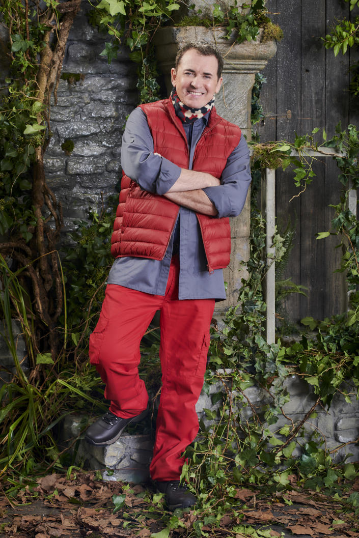Shane Richie in a promotional still for I'm A Celebrity... Get Me Out Of Here! (ITV)