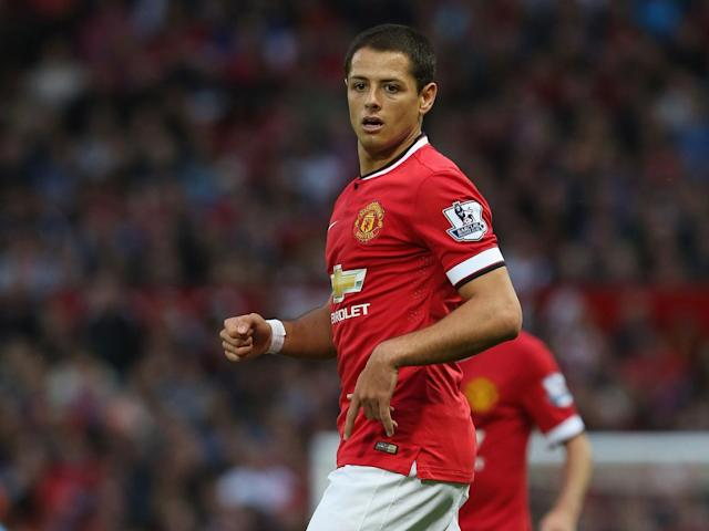 Hernandez during his United days (Getty Images)