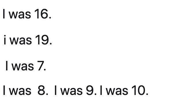 A number of tweets read 'I was 16' and 'I was 7'.