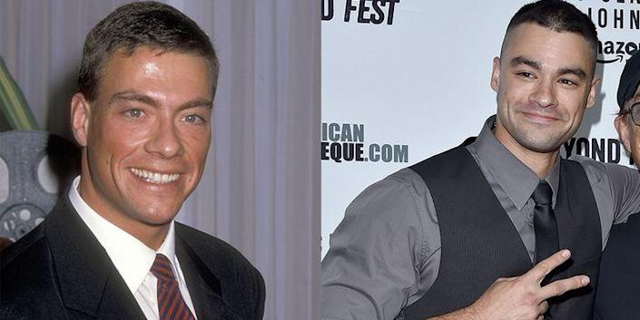 <p>The son of Belgian action star Jean-Claude Van Damme has followed in his father's footsteps, including collaborating with his father on projects like the 1996 film <em>Quest</em>.  </p>