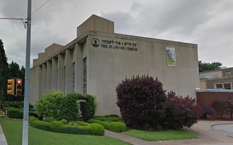<span>The Tree of Life Congregation Synagogue in Pittsburgh</span>