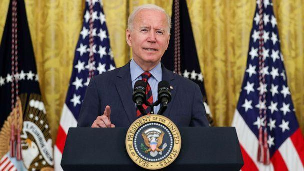 PHOTO: President Joe Biden delivers remarks at the White House in Washington, D.C., Aug. 3, 2021.  (Jonathan Ernst/Reuters)