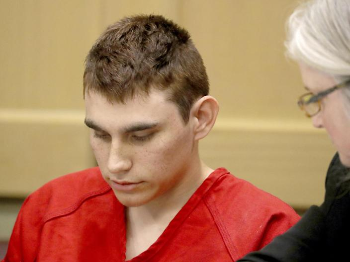 Nikolas Cruz is accused of murdering 17 people (AP)