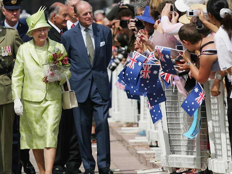 Prince Philip was controversially awarded a knighthood on Australia Day by Tony Abbott last year: Getty Images