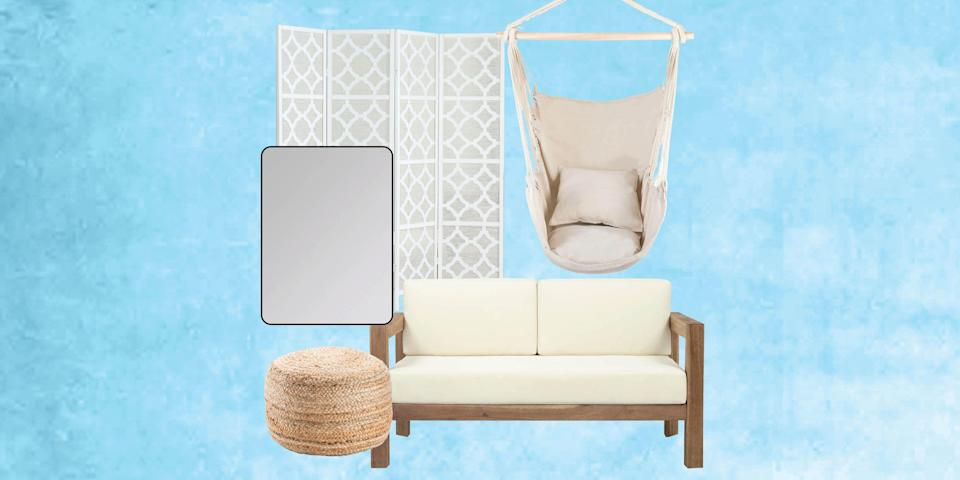 """<p><a href=""""https://www.housebeautiful.com/lifestyle/a30880463/easter-instagram-captions/"""" rel=""""nofollow noopener"""" target=""""_blank"""" data-ylk=""""slk:Spring has finally sprung"""" class=""""link rapid-noclick-resp"""">Spring has finally sprung</a>, so it's time to refresh your home for the season. If cost is one of the reasons you haven't revamped your space yet, then you're going to want to check out <a href=""""https://www.overstock.com/red-tag-sale"""" rel=""""nofollow noopener"""" target=""""_blank"""" data-ylk=""""slk:Overstock's red tag sale."""" class=""""link rapid-noclick-resp"""">Overstock's red tag sale.</a> The sale began this week and is offering thousands of items on discount, so you can get all your spring essentials for up to 70% off. Even better? Shipping is free! So whether you're looking for pieces to revitalize your patio or change up your work from home space, you can find that and more at the red tag sale. To make it easier for you to sift through these sweet deals, we've rounded up a couple of our favorites from the sale. But hurry: The sale ends April 1!</p>"""