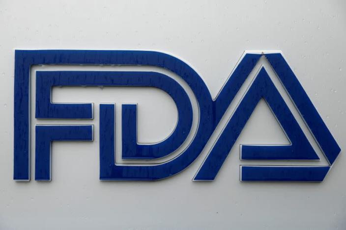 FILE PHOTO: Signage is seen outside of FDA headquarters in White Oak, Maryland