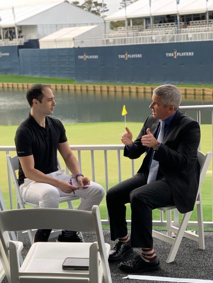 PGA Tour Commissioner Jay Monahan talks with Yahoo Finance editor-at-large Brian Sozzi at the 2019 Players Championship about the business outlook for golf.