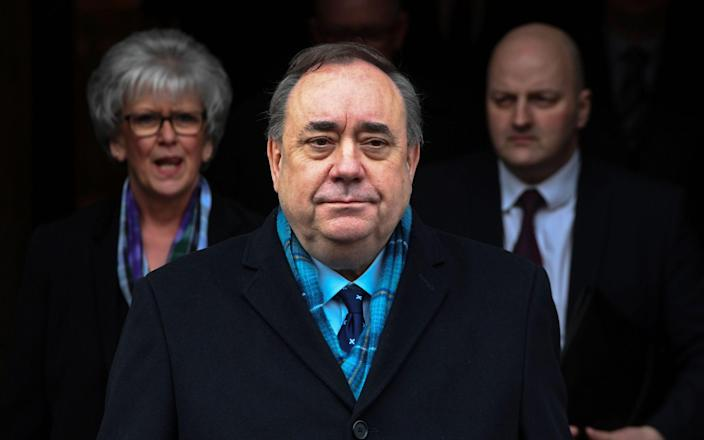Alex Salmond hired one of Scotland's top QCs to help him fight charges - Andy Buchanan/AFP