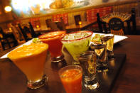 Flavourful margaritas and specially prepared flights of tequila take centre stage at the 30-seat La Cava del Tequila in the Mexico pavilion at Epcot. It celebrates the heritage and tradition of tequila-making in Mexico and more than 70 tequilas are offered. (Gene Duncan, Disney)