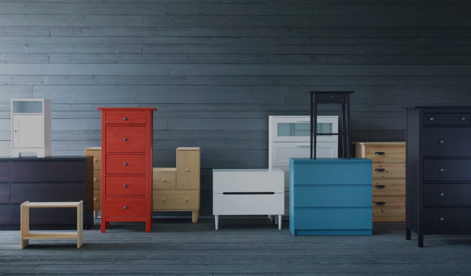 All these furniture pieces are perfectly suited for the new IKEA Buy Back program.