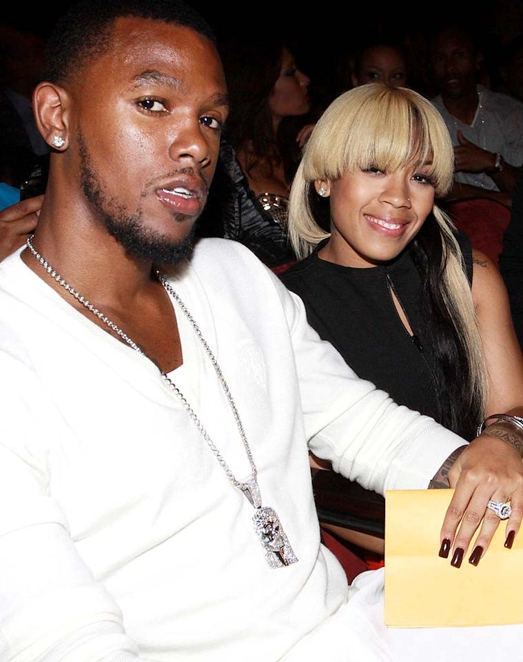 "Singer Keyshia Cole and her Cleveland Cavaliers fiance Daniel Gibson welcomed their first child, Daniel Hiram Gibson Jr., on March 2. Johnny Nunez/<a href=""http://www.wireimage.com"" target=""new"">WireImage.com</a> - June 27, 2010"