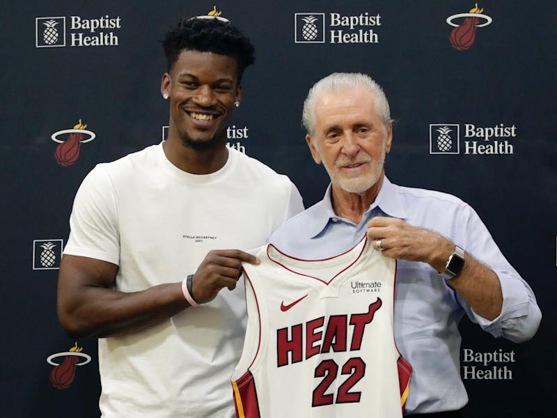 jimmy butler pat riley