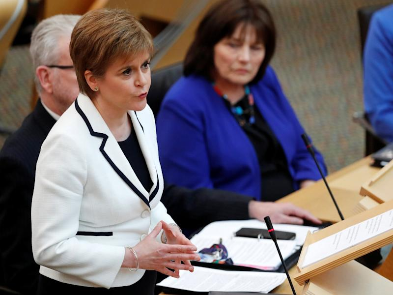 Scottish independence: Nicola Sturgeon outlines plan for second referendum in next two years