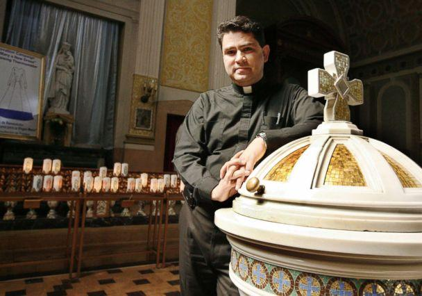 PHOTO: The Very Rev. Esequiel Sanchez was injured in the crash but 'alert' and 'resting,' according to the Archdiocese of Chicago. (New World Publications via Archdiocese of Chicago)