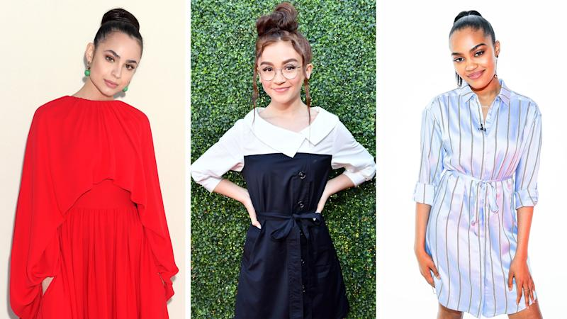 """""""Descendants"""" Star Anna Cathcart Said Sofia Carson and China Anne McClain Took Her """"Under Their Wing"""""""