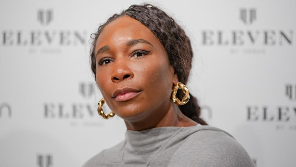 Venus Williams EleVen clothing collection launch, Rome, Italy - 11 May 2019.