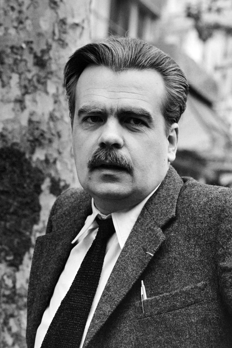 Michael Lonsdale pictured while filming The Day of the Jackal in 1972