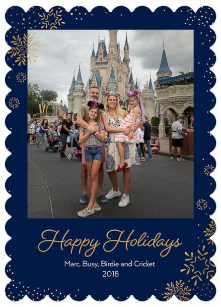 PHOTO: Busy Philips and family are pictured in their 2018 holiday card. (Courtesy Tiny Prints)