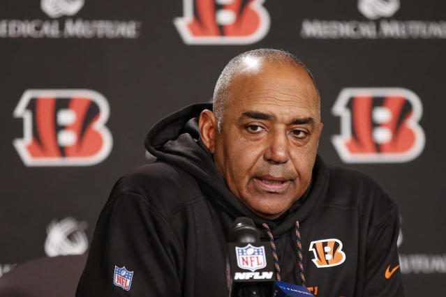 Marvin Lewis will leave the Bengals after this season, per ESPN reports. (AP)
