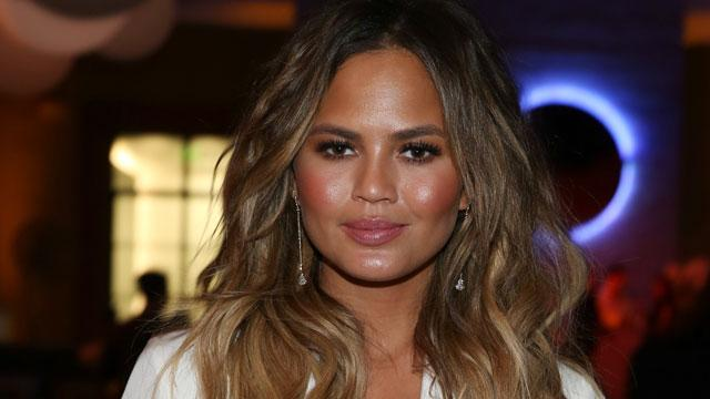 Chrissy Teigen Says Husband John Legend Is 'Fine' Talking About Couple's Fertility Struggles