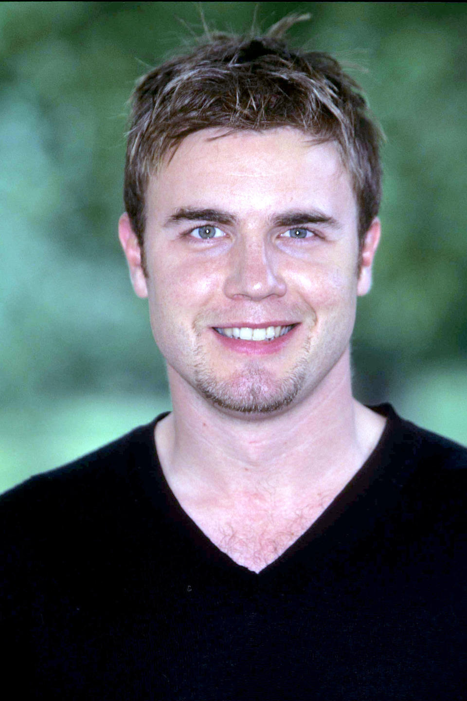 Gary Barlow during Party in the Park Line Up Announcements - June 1, 1999 at Hyde Park in London, Great Britain. (Photo by Fred Duval/FilmMagic)