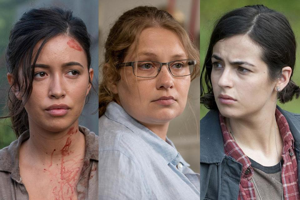 <p>a. Rosita<br>b. Denise<br>c. Tara<br><br>(Photo: AMC) </p>
