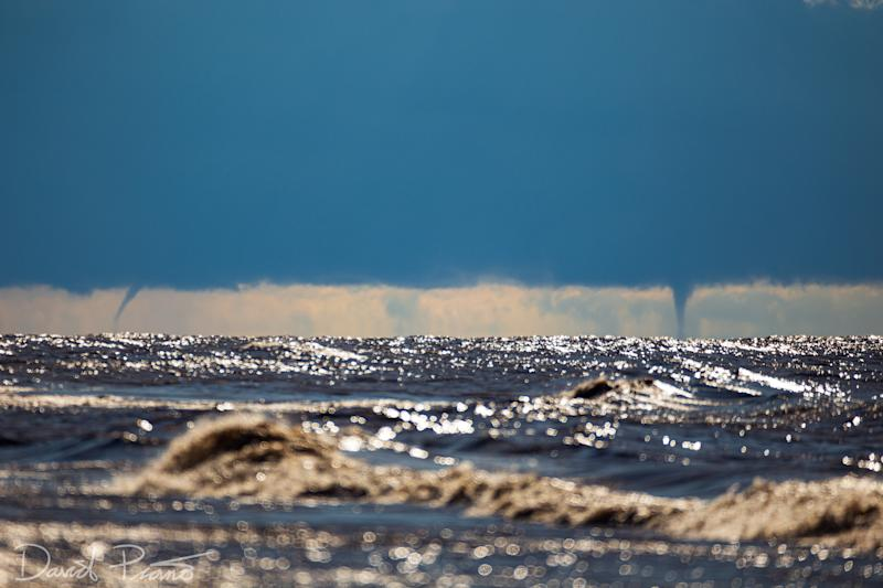Mark Robinson: Lake Erie waterspout, Oct. 3, 2020 2