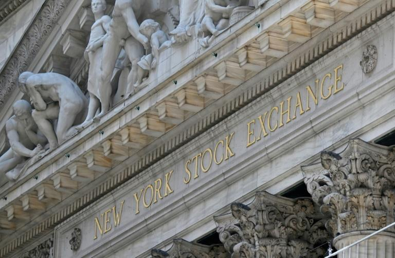 Le New York Stock Exchange (NYSE) à Wall Street (New York), le 3 août 2020
