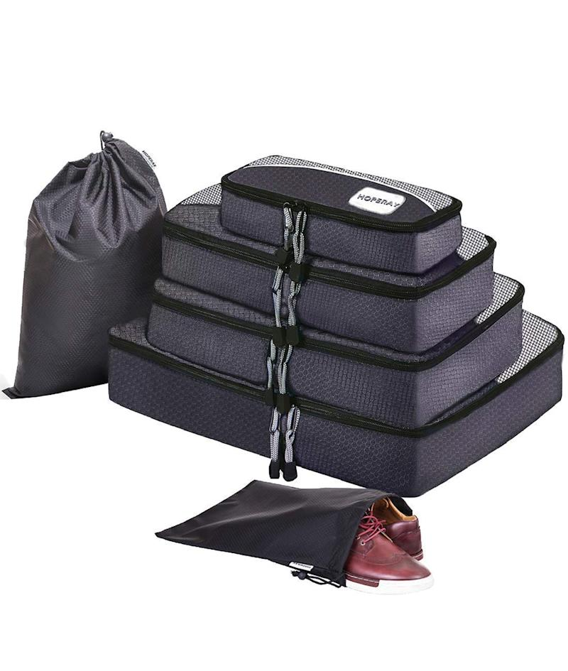 Packing Cubes for Travel Compression Accessories-Large Packing Organizers 6 Set