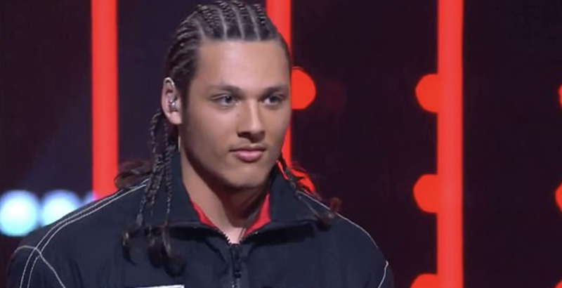 Kelly's choice to let Denzel rap an original song copped criticism from some other coaches. Photo: Channel Nine