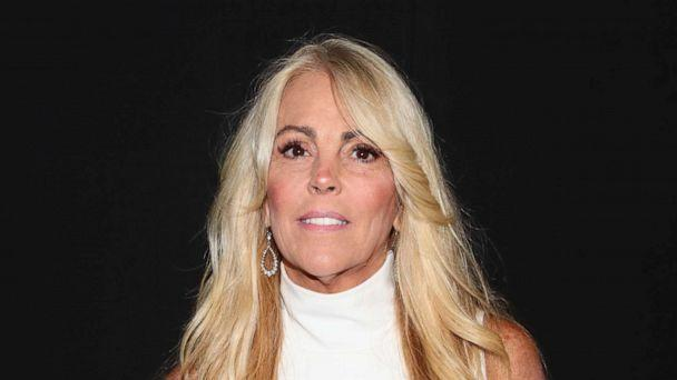 PHOTO: Dina Lohan poses backstage during New York Fashion Week on Sept. 7, 2018, in New York City. (Astrid Stawiarz/Getty Images)