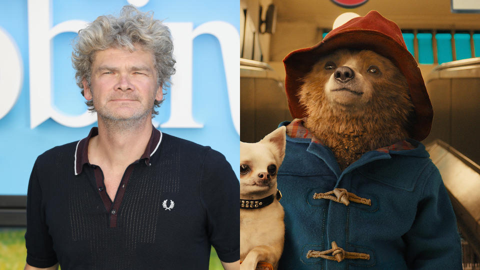 Simon Farnaby will not return to write 'Paddington 3'. (Credit: Tristan Fewings/Getty Images/Studiocanal)