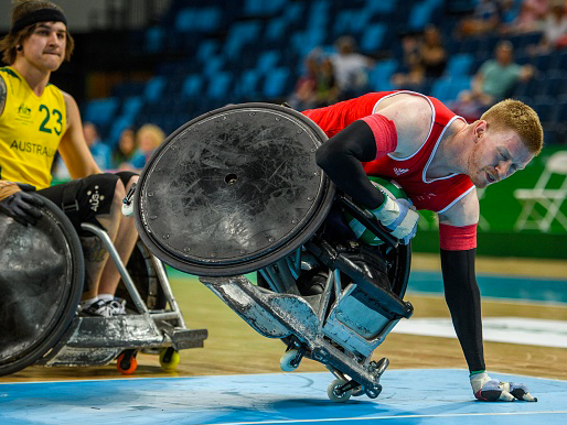 The future of GB Wheelchair Rugby is at risk: Getty Images