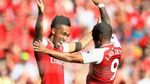 The two strikers could be deployed together as the new Gunners manager looks to return to winning ways