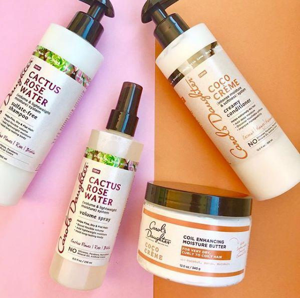 """Lisa Price established her brand Carol's Daughter in 1993 in Brooklyn, New York, which is named after her mother. The brand, which can now be found at national retailers like <a href=""""https://fave.co/3eRnW3t"""" target=""""_blank"""" rel=""""noopener noreferrer"""">Target</a>, specializes inhair care and beauty products made with rare and natural ingredients, particularly products for natural hair, relaxed hair and textured hair. Choose from best-sellers like <a href=""""https://fave.co/2AKZ66p'"""" target=""""_blank"""" rel=""""noopener noreferrer"""">the Almond Cookie Shea Souffl&eacute;</a> for dry skin and brand's cult-favorite <a href=""""https://fave.co/2XAaBXk"""" target=""""_blank"""" rel=""""noopener noreferrer"""">Healthy Hair Butter</a>. <br /><br /><a href=""""https://fave.co/3gWc2qQ"""" target=""""_blank"""" rel=""""noopener noreferrer"""">Check out the full collection at Carol's Daughter</a>."""