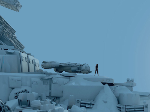 'Star Wars: The Force Awakens' concept art