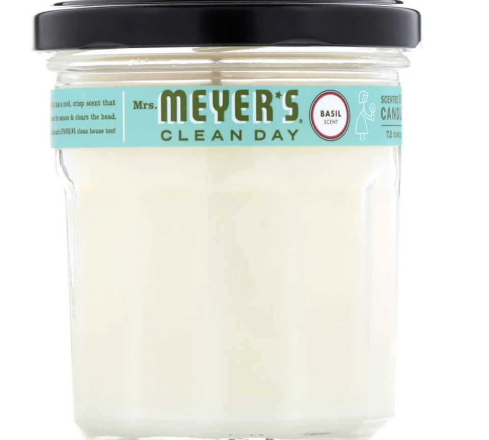 Mrs. Meyers Clean Day, Scented Soy Candle, Basil Scent. PHOTO: iHerb